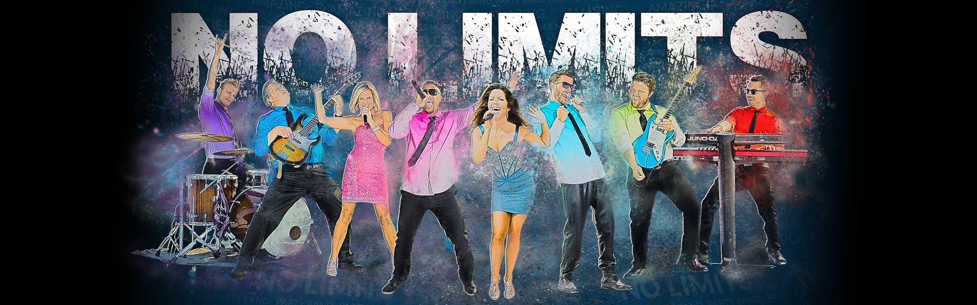 No Limits Dance Band Header Image